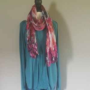 Maurices XL top with scarf!